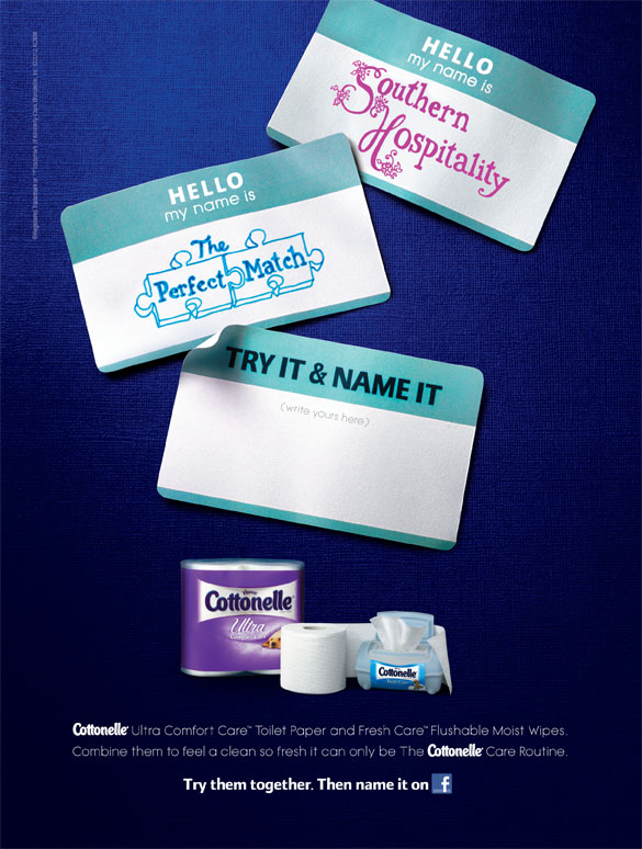 My Name Is <br> Cottonelle Canada