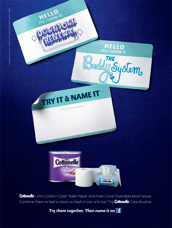 Hello My Name Is <br> Cottonelle Canada