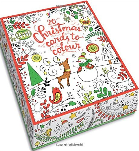 Christmas Cards to Color <br> Usborne