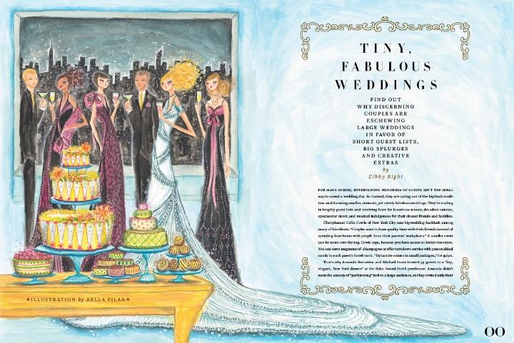 Tiny, Fabulous Weddings <br> Elegant Bride