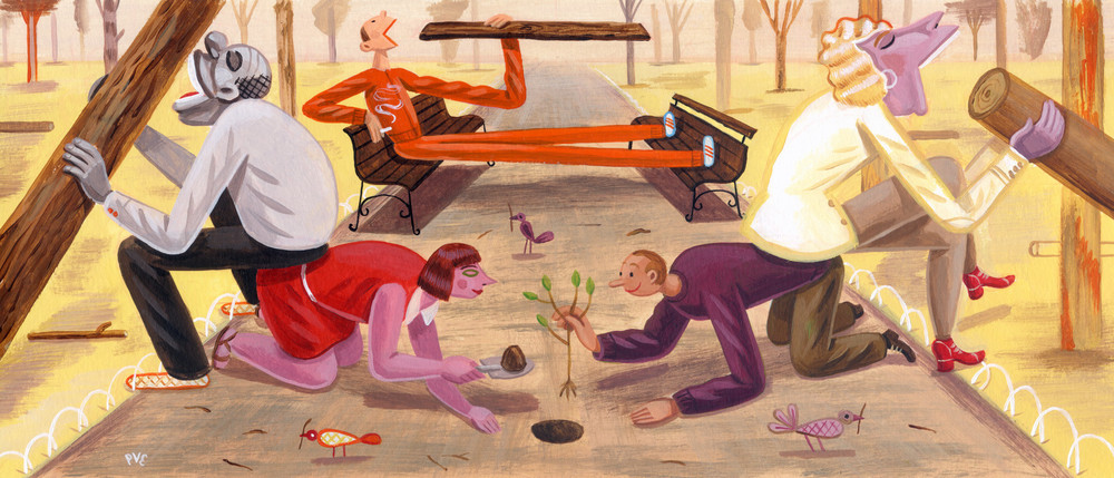 Planting Trees<br>de Correspondent