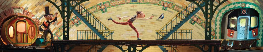 Across The Platform <br> MTA Arts & Design