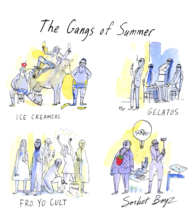 The Gangs of Summer <br> The New York Times