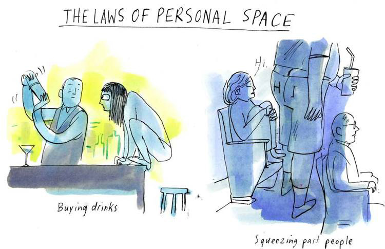 Laws of Personal Space <br> Real Simple