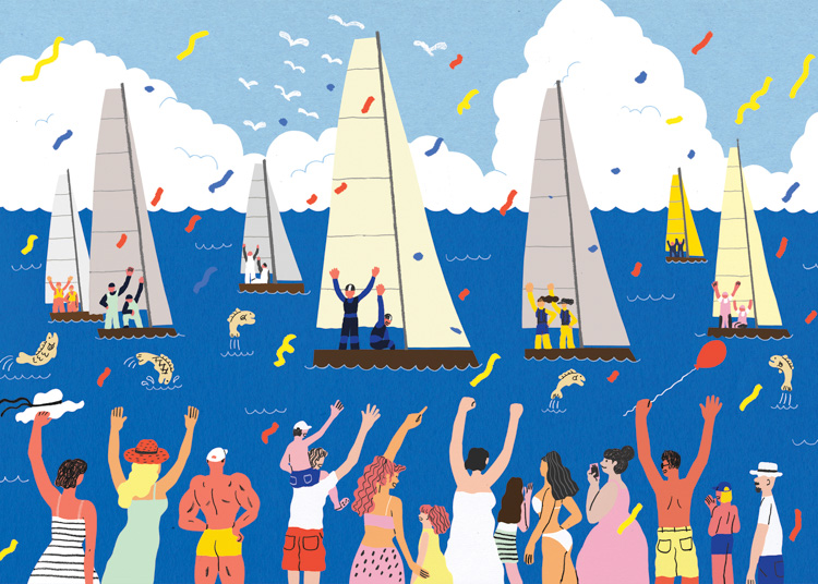 Regatta <br> Rhode Island Monthly