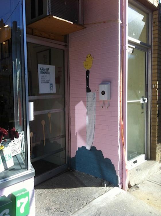 Storefront Mural B <br> Good Egg