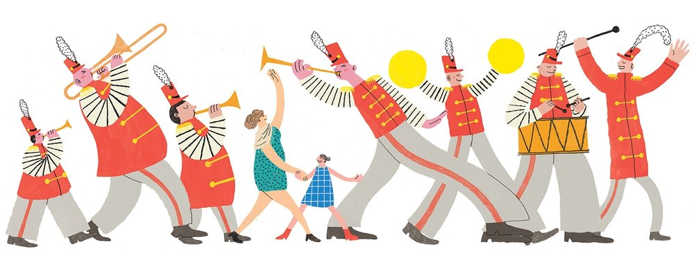 Marching Band <br> Boston Globe