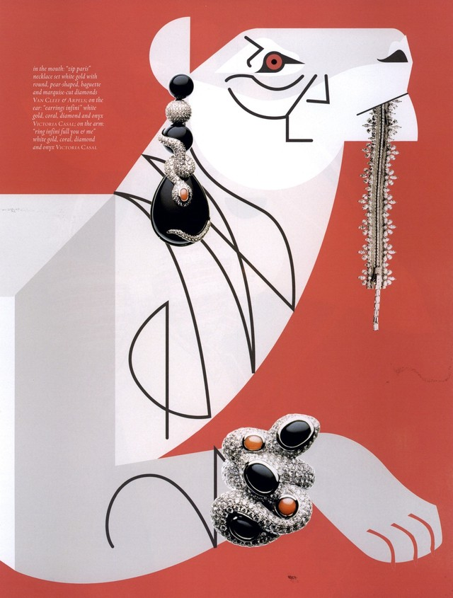 Tiger - Jewelry Feature <br> Muse Magazine
