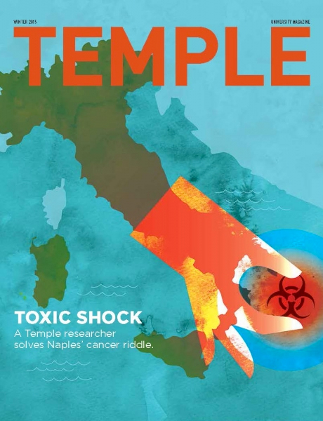 Naples' Toxic Problem - Cover <br> Temple Magazine