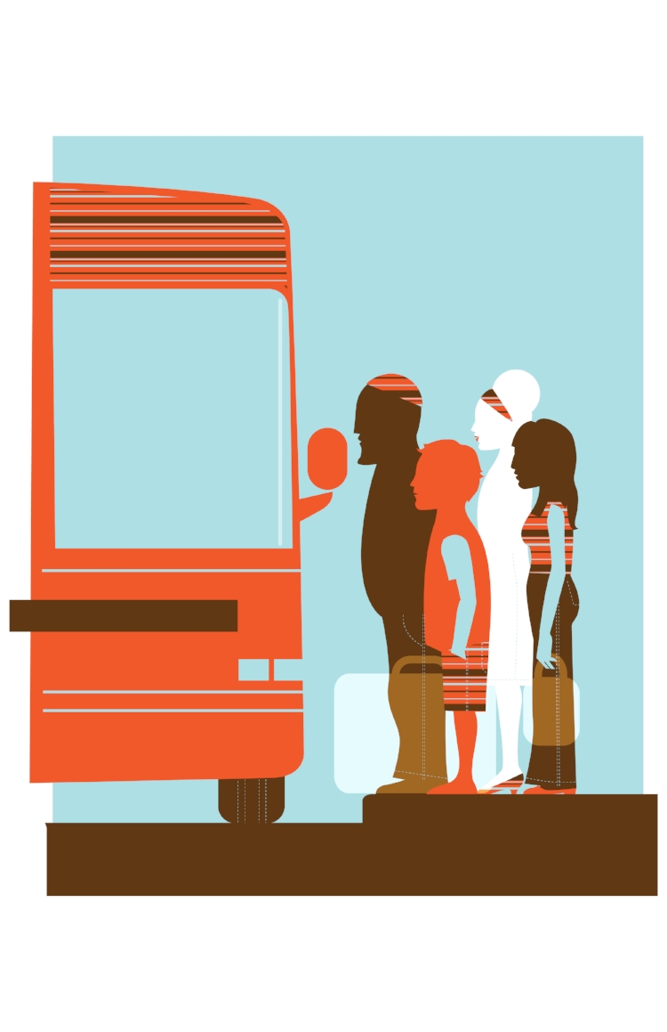 Bus Stop <br> Next American City Magazine