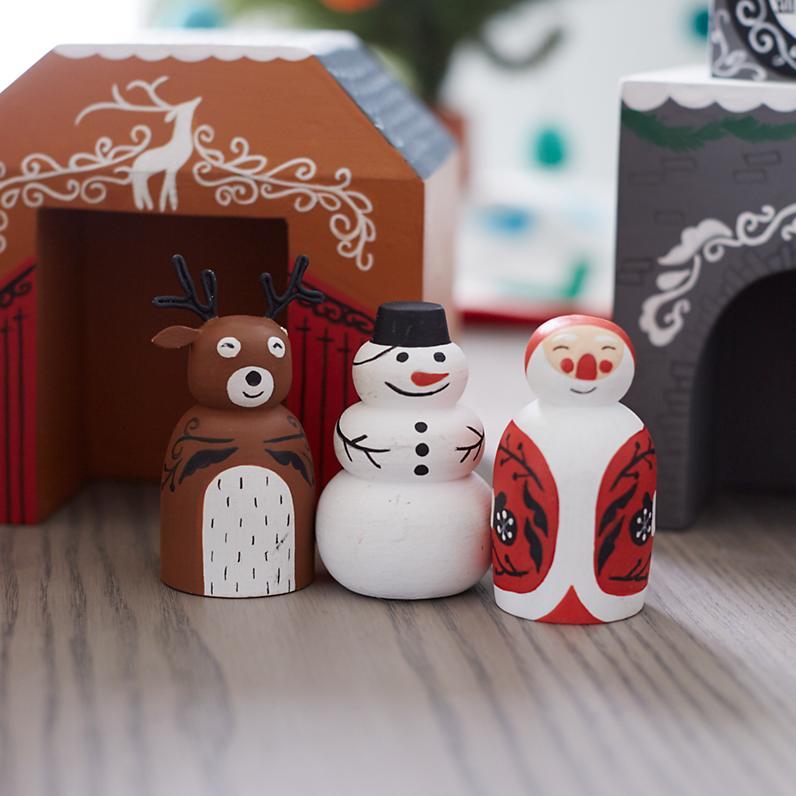 Snowman Village <br> The Land of Nod