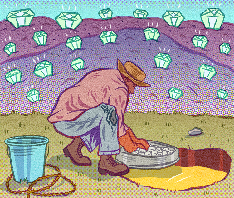 Diamond Mine <br> Pacific Standard Magazine