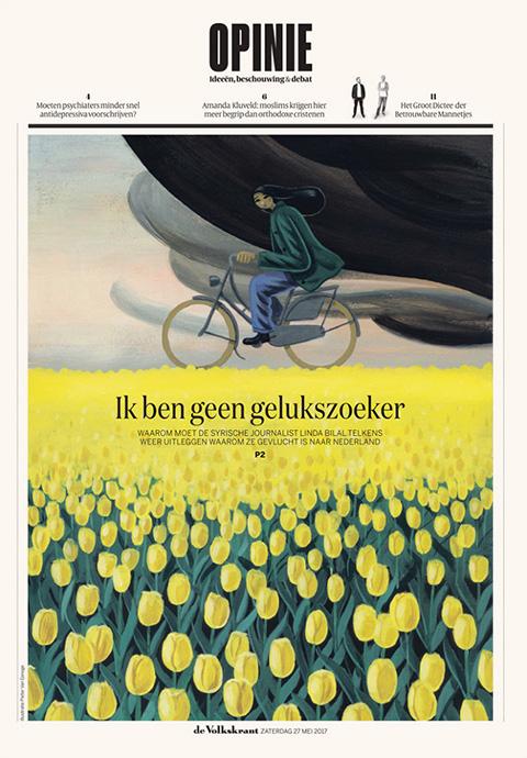 Opinon Cover <br> De Volkskrant