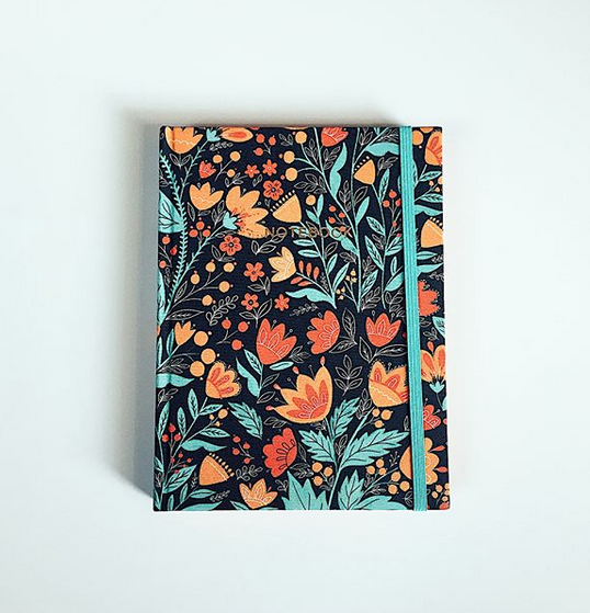 Cloth Notebook <br> Quadrille