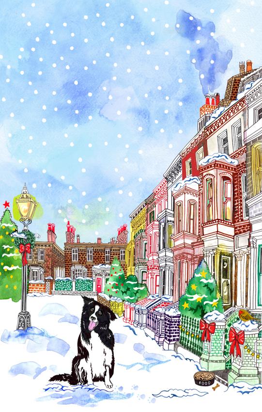 Snowy Moment <br> Hennie Haworth