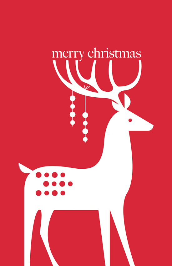 Holiday Deer <br> Eleanor Grosch