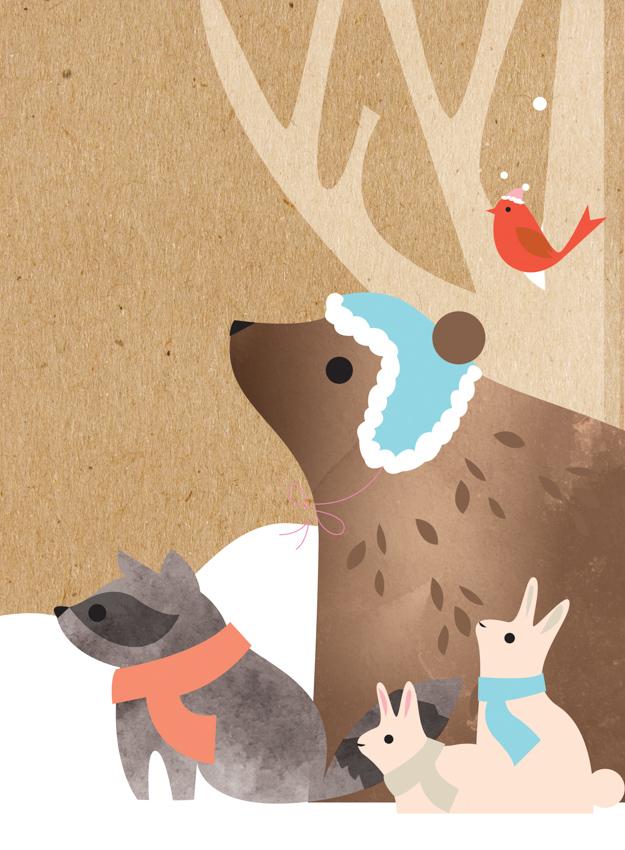 Snow Animals <br> Eleanor Grosch