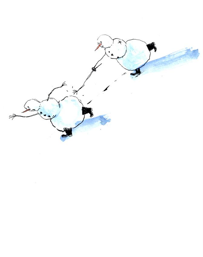 Snowman Tag <br> Graham Roumieu