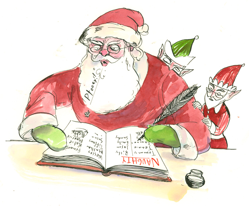 Santa's Naughty Book <br> Graham Roumieu