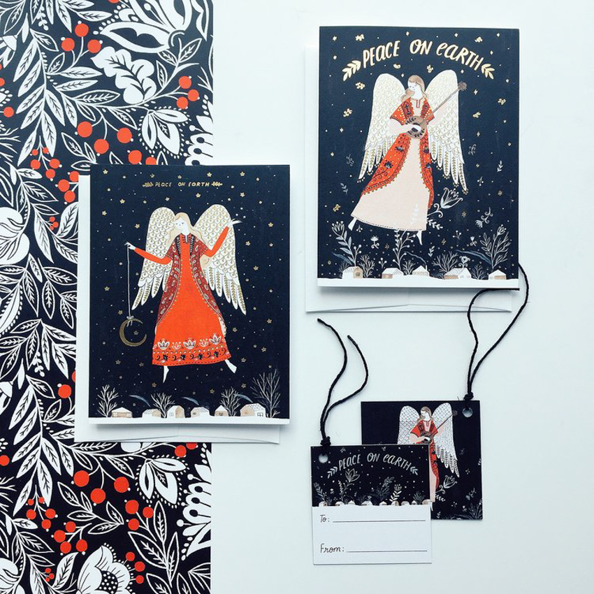 Holiday Greeting Cards <br> Dinara Mirtalipova