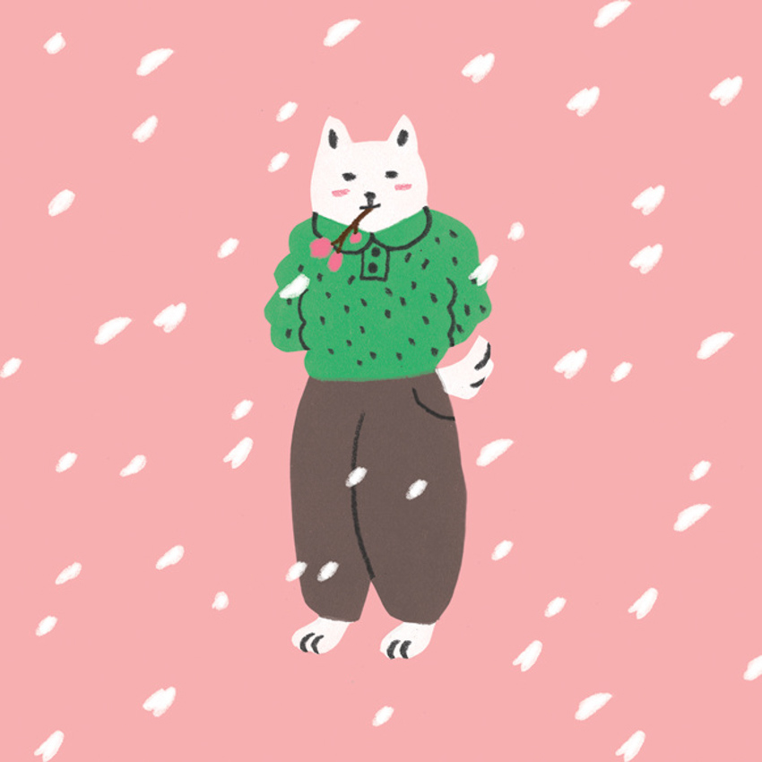 PaperCrown - Snowy Dog <br> Hye Jin Chung