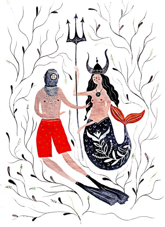 Diver Meets Mermaid<br>Dinara Mirtalipova