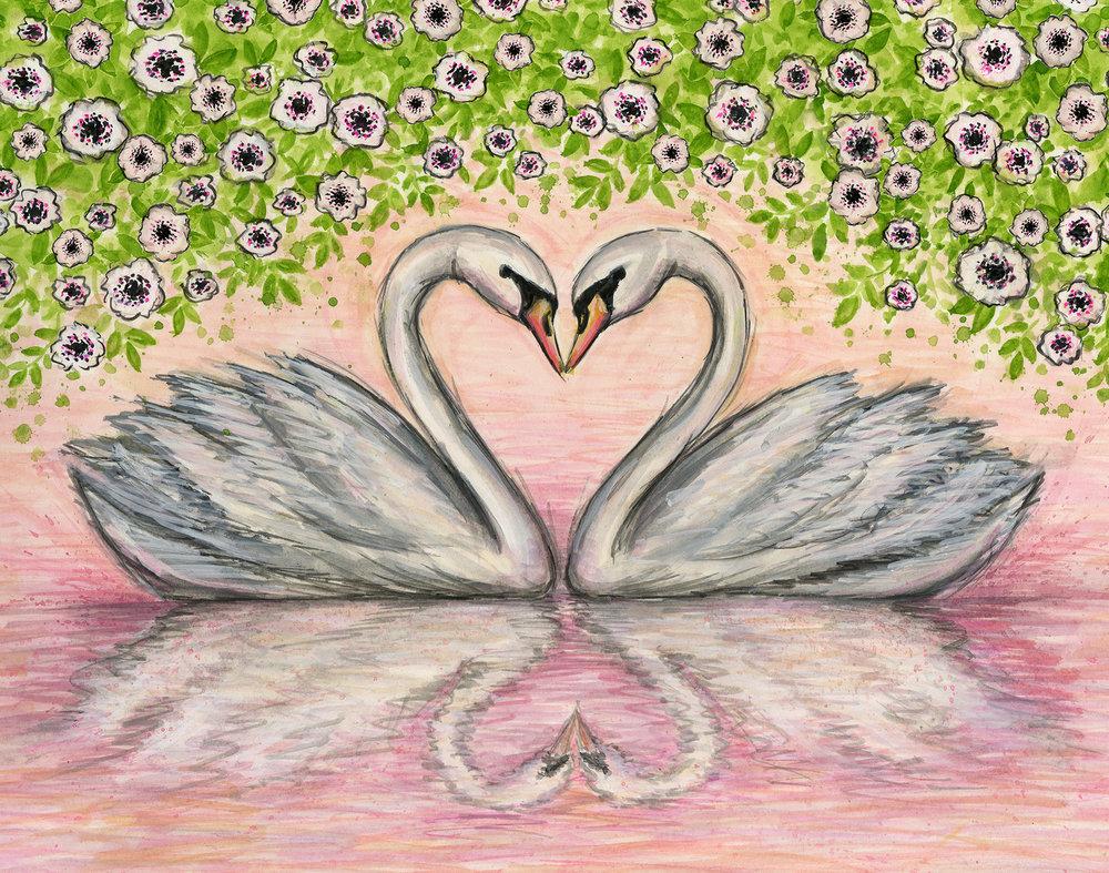 Papyrus - Swan Love<br>Bella Pilar