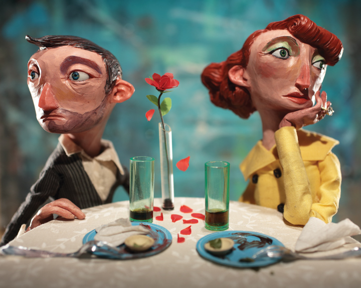 Wall Street Journal - Married Couples<br>Red Nose Studio