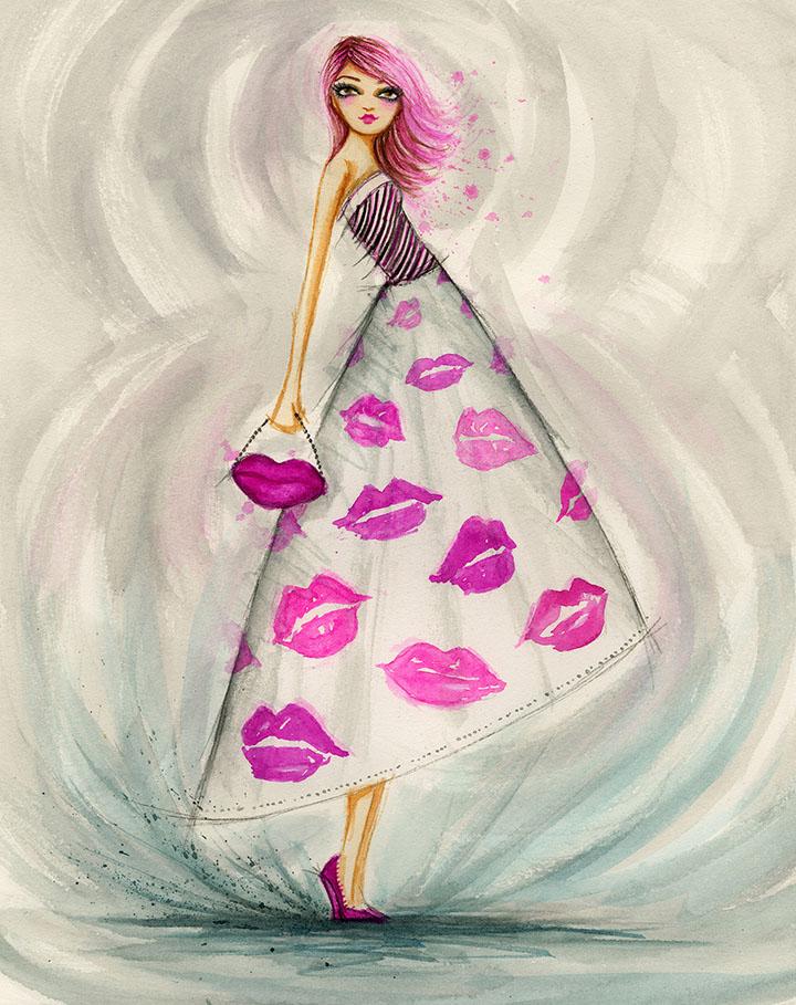 Lipstick Kisses<br>Bella Pilar
