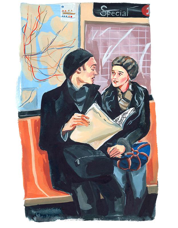 On the Subway<br>Jenny Kroik
