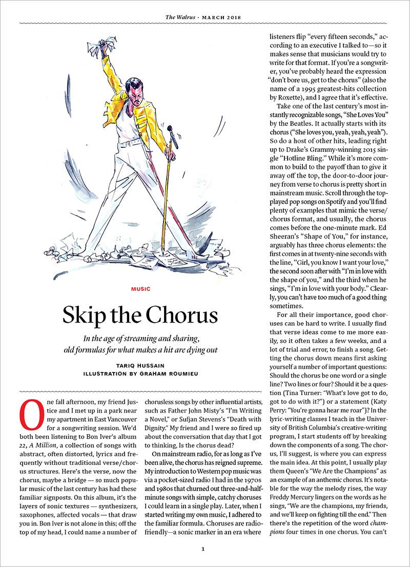 Skip the Chorus <br> The Walrus