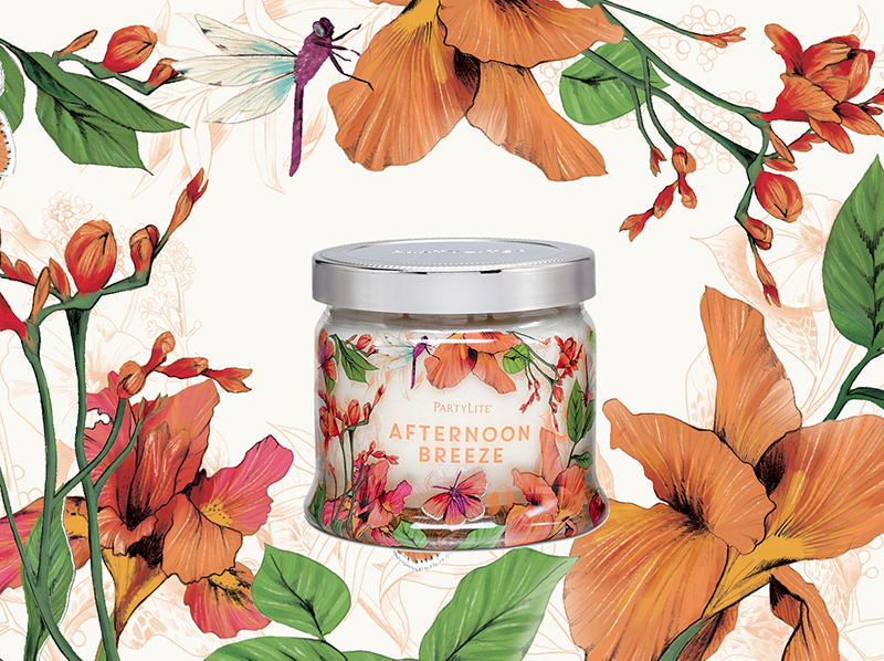 Afternoon Breeze <br> Partylite