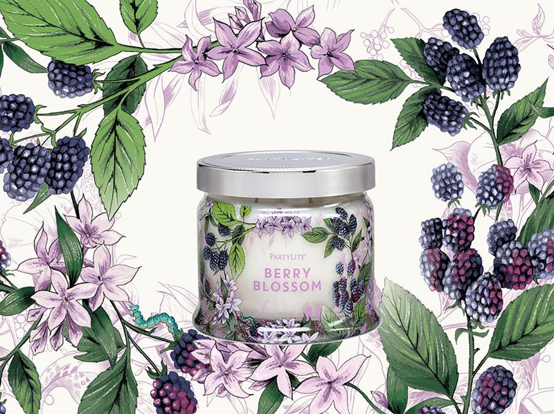 Berry Blossum <br> Partylite