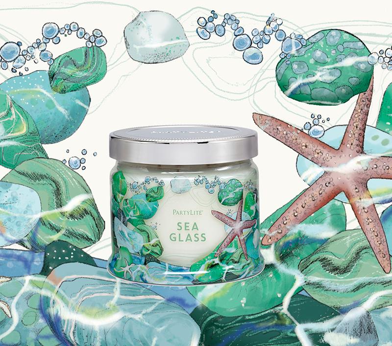 Sea Glass <br> Partylite