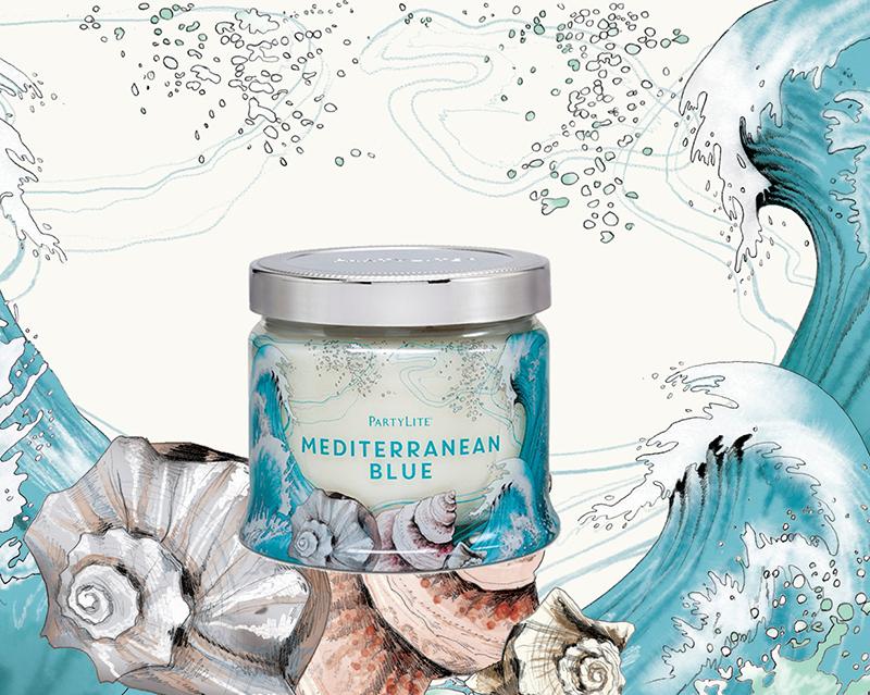 Mediterranean Blue <br> Partylite