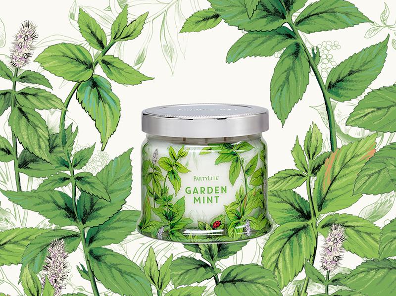 Garden Mint <br> Partylite