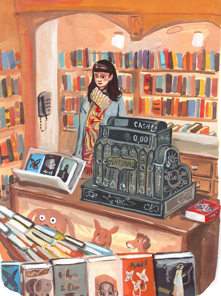 Corner Bookstore<br>Jenny Kroik