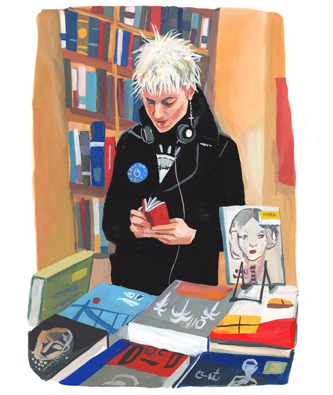 The Strand Bookstore<br>Jenny Kroik