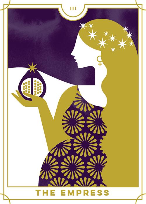 The Empress - Everyday Tarot <br> Running Press