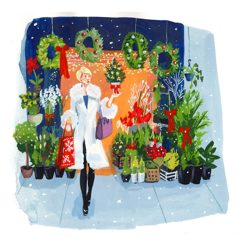 Christmas Flower Shop<br>Jenny Kroik