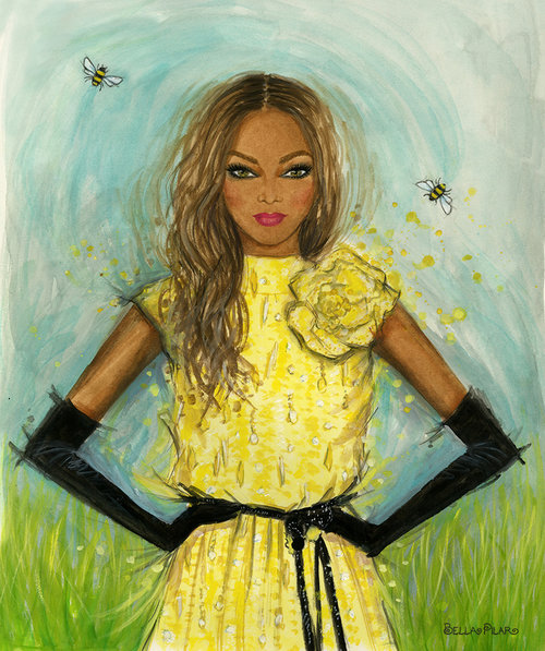 Tyra Banks in Marc Jacobs