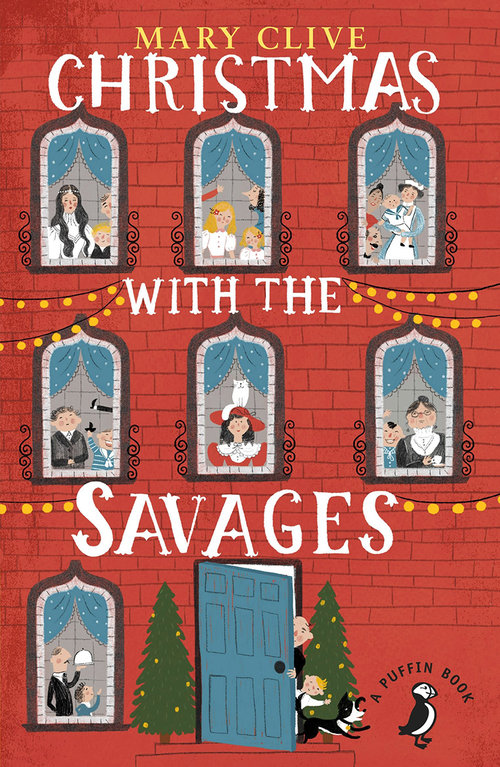 Christmas with the Savages (Cover Art) <br> Penguin Books Limited
