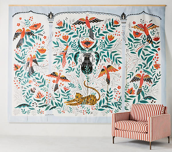 Mural <br> Anthropologie