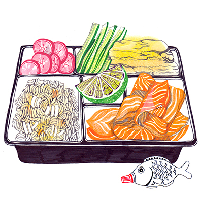 Bento Box (The Guardian) – Hennie Haworth