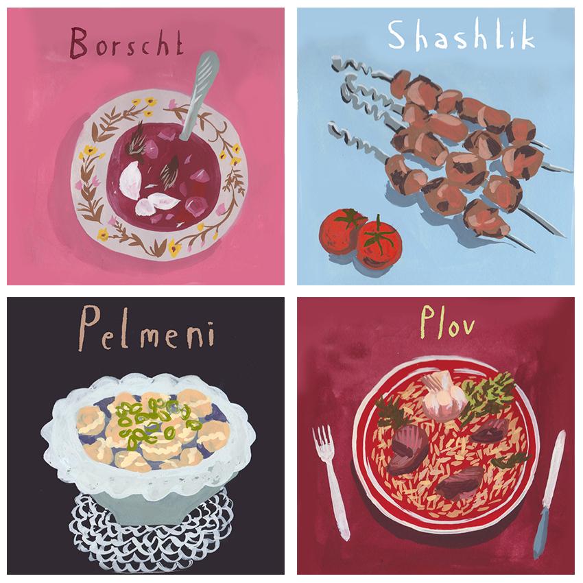 Russian Dishes 1 – Jenny Kroik