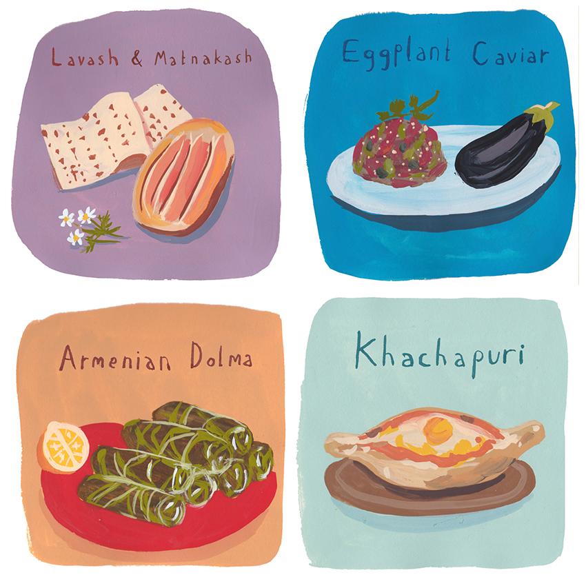 Russian Dishes 2 – Jenny Kroik