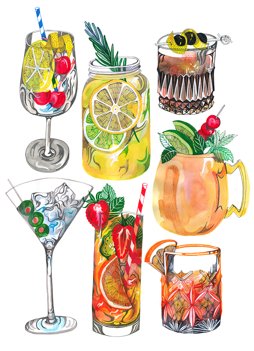 Drinks – Hennie Haworth
