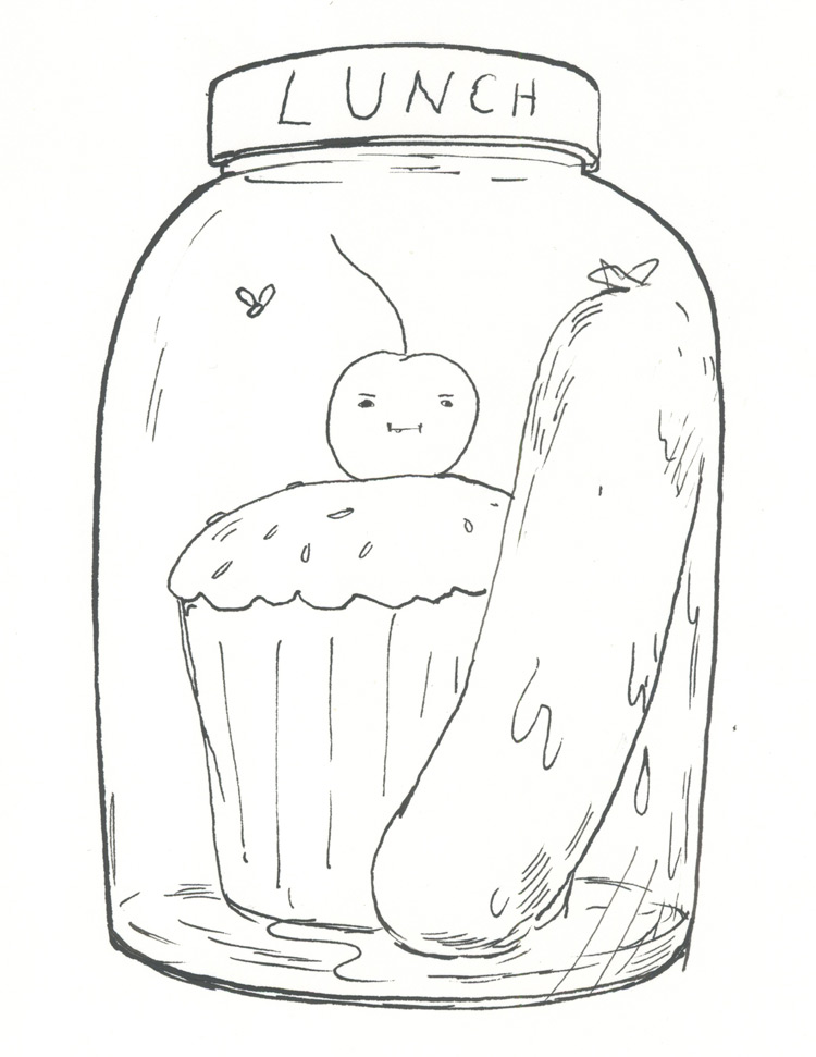 Jar of Lunch –Graham Roumieu