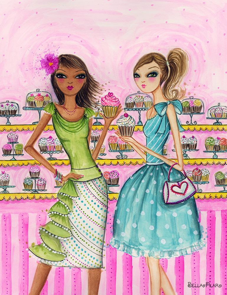 Girlfriends with Cupcakes - Bella Pilar