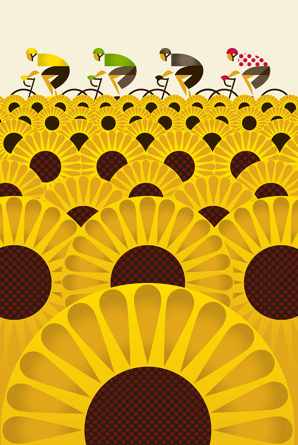 Les Tournesols - Design House Greetings